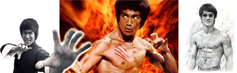 Bruce Lee Montage Image