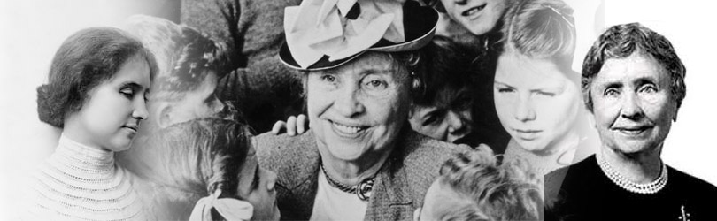 Helen Adams Keller was born on 27th June 1880 | Helen Adams Keller Died on 1st june 1968. Helen Adams Keller American author, political activist, and lecturer. She was the first deaf and blind person to earn a Bachelor of Arts degree.